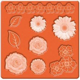 ModPodge Mod Podge, Flores Mold Mod, 95 x 95 mm, 9 Designs