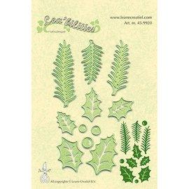 Leane Creatief - Lea'bilities Lea'bilitie - Holly leave, pine branches
