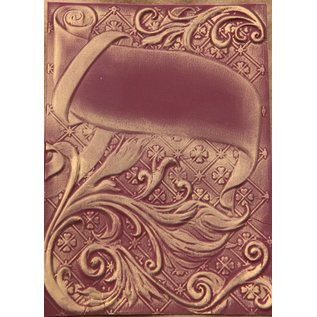 Spellbinders und Rayher 3D-Prägeschablone, M-Bossabilities, Ornamental Swirls, 12,7 x 17,8 cm, 1 Designs