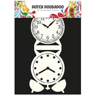 Dutch DooBaDoo Korttype - skabelon et bornholmerur