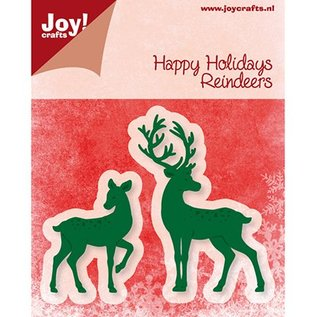 Joy!Crafts / Hobby Solutions Dies Joy Crafts, presning og prægning mappe, rensdyr