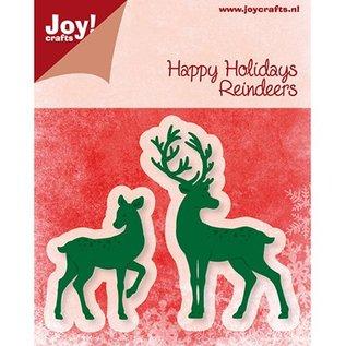 Joy!Crafts / Hobby Solutions Dies Joy Crafts, stempelen en embossing folder, rendieren