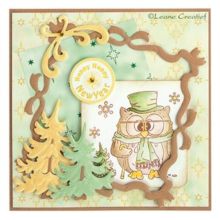 Leane Creatief - Lea'bilities Timbres Transparent Mini, Stamp - Popco hiver