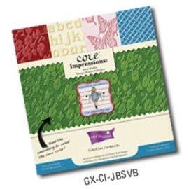 Karten und Scrapbooking Papier, Papier blöcke Bloc Designer, Premium Colorcore cardstock