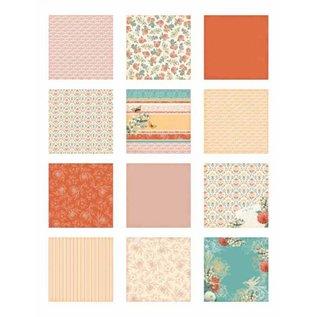 DCWV und Sugar Plum Designerblock, Coral Couture Paper Stack