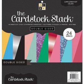 DCWV und Sugar Plum Diseñador bloque, pila de papel de tarjetas de doble cara