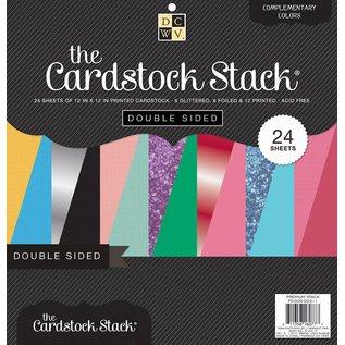 DCWV und Sugar Plum Designerblock, doppelseitiges Cardstock stack