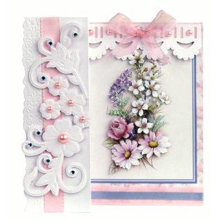 BASTELSETS / CRAFT KITS Piegatura Romantico, mazzi di fiori