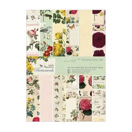 Karten und Scrapbooking Papier, Papier blöcke Designer Block, A4, magical designs, Botanicals