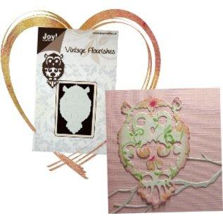 Joy!Crafts / Jeanine´s Art, Hobby Solutions Dies /  Präge- und Schneideschablone: Eule
