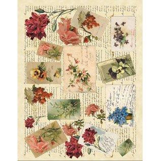 DECOUPAGE AND ACCESSOIRES Soft-Paper 50x70cm - Memories 1