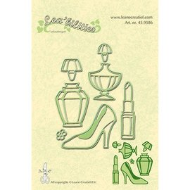 Leane Creatief - Lea'bilities Punch - and embossing template