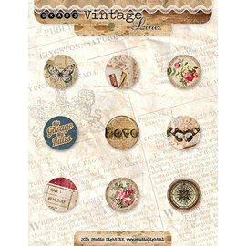 Vintage, Nostalgia und Shabby Shic Brads Vintage nr.4