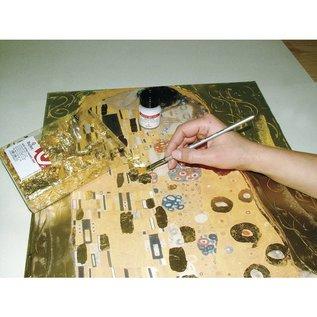 BASTELZUBEHÖR, WERKZEUG UND AUFBEWAHRUNG Deco metallo doratura, sottile, bottiglia da 25 ml