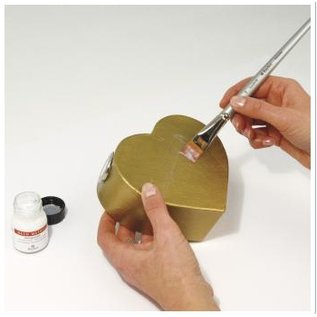 BASTELZUBEHÖR, WERKZEUG UND AUFBEWAHRUNG Deco metalen beschermende verf, fles 25 ml