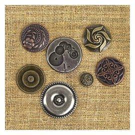 Embellishments / Verzierungen Vintage mechanicals - Mekaniske produkter Vintage center