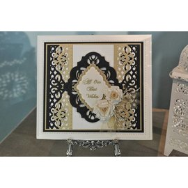 CREATIVE EXPRESSIONS und COUTURE CREATIONS CREATIVE EXPRESSIONS,  cut and emboss Stencil