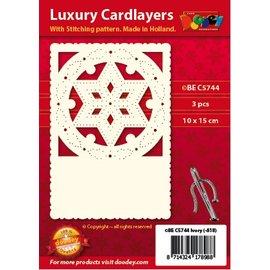 KARTEN und Zubehör / Cards Luxury card camada 1Set com 3 cartões, 10,5 x 14,85 centímetros