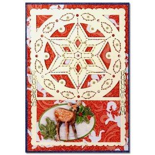 KARTEN und Zubehör / Cards Luksus kortlaget 1Indstil med 3 kort, 10,5 x 14,85 cm