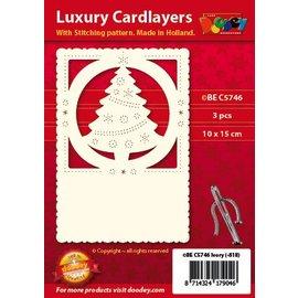KARTEN und Zubehör / Cards Luxury card camada 1Set com 3 cartões, 10 x 15 cm