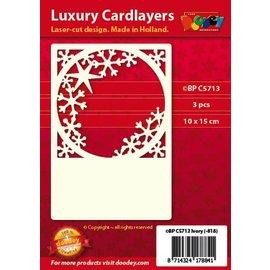 KARTEN und Zubehör / Cards Cartes luxe Pad 1Réglez avec 3 cartes, 10 x 15 cm