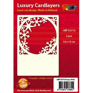 KARTEN und Zubehör / Cards Luksus kort Pad 1Indstil med 3 kort, 10 x 15 cm