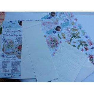 Objekten zum Dekorieren / objects for decorating Bastelset Karten Gestaltung