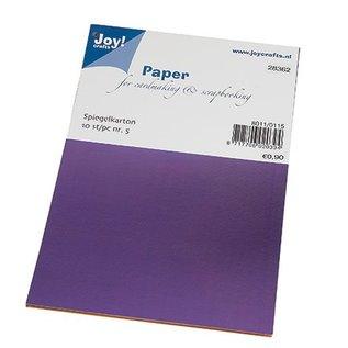 Karten und Scrapbooking Papier, Papier blöcke Mirror box, 10 ark