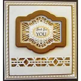 Stempel / Stamp: Transparent Denne Craft - Multi stansning og prægning skabelon