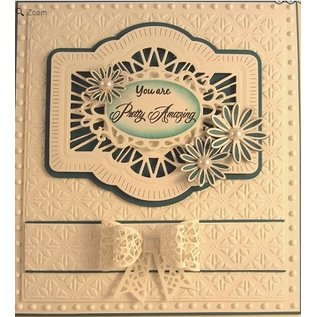 CREATIVE EXPRESSIONS und COUTURE CREATIONS This Craft - Multi punching and embossing template
