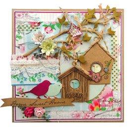 Marianne Design Collectables: Vögel, COL1311,  zurück vorrätig!
