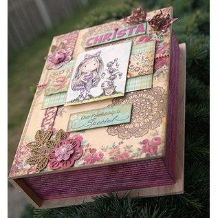 Objekten zum Dekorieren / objects for decorating Wooden box in book form in 4 different sizes