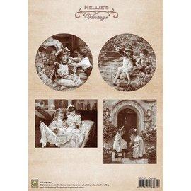 Nellie Snellen As imagens do vintage