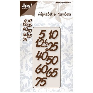 Joy!Crafts / Hobby Solutions Dies Le gaufrage et le découpage mat: numéros