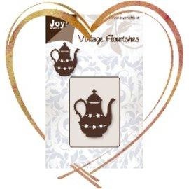 Joy!Crafts / Jeanine´s Art, Hobby Solutions Dies /  Embossage et coupe modèle: Teapot