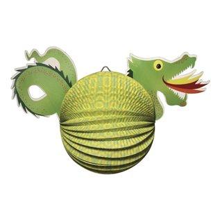 Kinder Bastelsets / Kids Craft Kits Lanterne Set Dragon, 20cm de diamètre, 40,5 cm, incl. Lumière Rod + LED