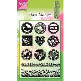 Joy!Crafts / Jeanine´s Art, Hobby Solutions Dies /  Gennemsigtig stempel, 11 designs
