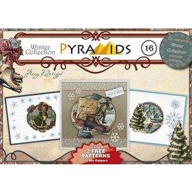Bücher und CD / Magazines knutsel boek, piramide kaarten maken, No.16