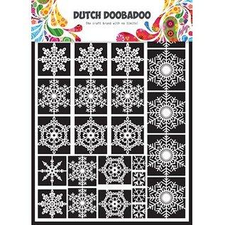 Dutch DooBaDoo Étoiles DooBaDoo néerlandais, neige