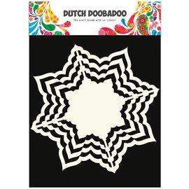 Dutch DooBaDoo Art skabelon, 16 x16 cm