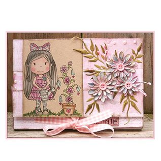 STEMPEL / STAMP: GUMMI / RUBBER Rubber Stamps - Paper nest dolls