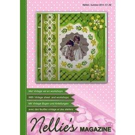 Nellie Snellen Le magazine Nellie Snellen avec de nombreux exemples