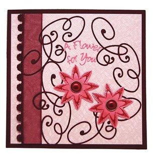 Joy!Crafts / Jeanine´s Art, Hobby Solutions Dies /  Stanz- und Prägeschablone und Stickmuster stechen