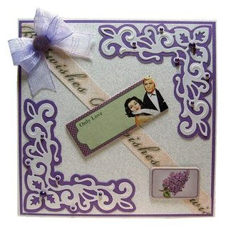 Joy!Crafts / Jeanine´s Art, Hobby Solutions Dies /  Joy Crafts, presning og Embossing stencil