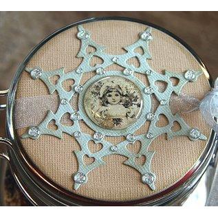 Marianne Design Stempling og prægning stencil, stjerne