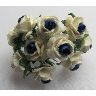 Embellishments / Verzierungen Fleurons Mulberry, 10 Blossom
