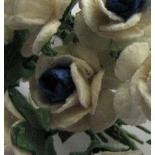 Embellishments / Verzierungen Mulberry roosjes, 10 Blossom