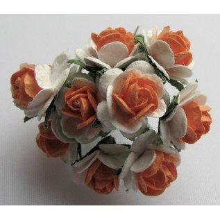 Embellishments / Verzierungen Mulberry florets, 10 Blossom - Copy - Copy - Copy