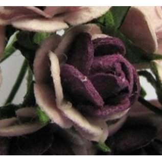 BLUMEN (MINI) UND ACCESOIRES Mulberry röschen, 10 Blüten
