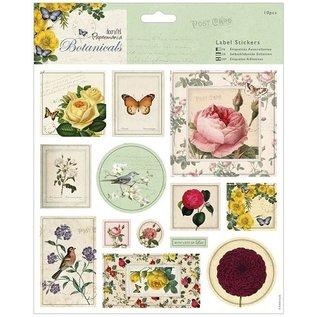 Docrafts / Papermania / Urban 13 Botanicals Aufkleber